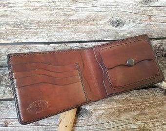 Men's leather wallet/classic leather wallet/bifold leather wallet/free shipping/portafoglio in pelle/кожанный бумажник/кожанный кошелек.