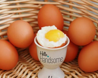 Personalised Statement Egg Cup - Handsome