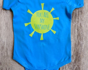 You Are My Sunshine Bodysuit Print