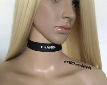 Chanel Style Choker FREE WW SHIPPING!!! Chanel Necklace Chanel Brooch Gifts For Her