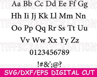 Digital Font,Svg Fonts for Cricut,Font Svg,Cut File Font,Font Download,Alphabet Svg,Monogram Font Svg,Script Font File,Silhouette Fonts