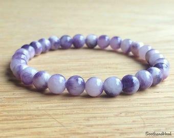 Mum Crystal Gifts Friendship Bracelet for Her Luck Gift Bracelet Heart Chakra Bracelet Fertility Bracelet Healing Gift Bracelet