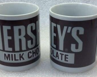 HERSHEY'S MILK CHOCOLATE Coffee Mug, Hot Chocolate  Set Of 2