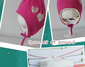 Snood and Girls' Bonnet Set