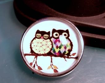 Cute! New! 18mm Black Owl Snap Charm-Noosa Snaps-Noosa Chunks-Chunk Snaps-Noosa Style-Noosa Earrings-Noosa Jewelry-GingerSnap-Snap Jewelry