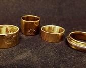 Brass ring band