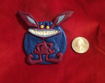 Aaahh real monsters!!  Christmas ornament!  Ickis