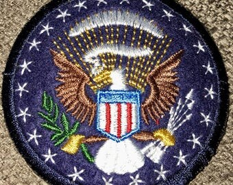 President of the United States Seal Embroidered Patch