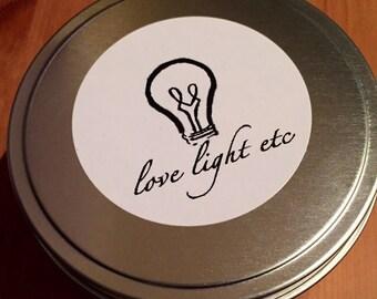 Lemon Zest - 4 oz. Soy Wax Candle Tin