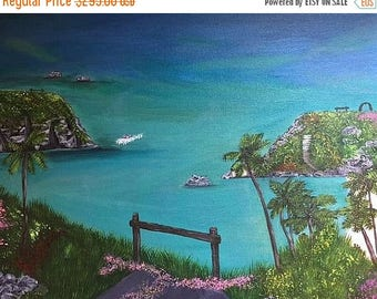 ON SALE: LIMITED Time Original painting, Realism, Wall art, Fine art, Wall decor, Bermuda Painting, Home Decor,  Acrylic Painting, Bermuda,
