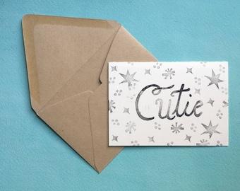 Cutie Greeting Card