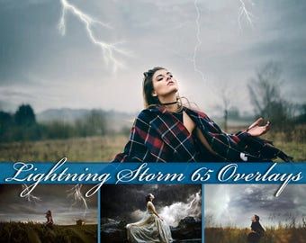65 Lightning Storm Overlays Lightning Storm Photoshop Overlays Lightning Storm Overlay Lightning Storm Photo Overlays Lightning Bolt