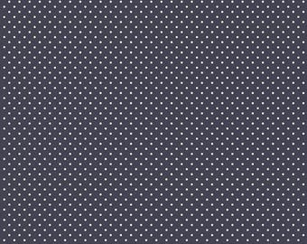 AGF Fabric petits stipple midnight from Les Petits by Amy Sinibaldi LEP-610.