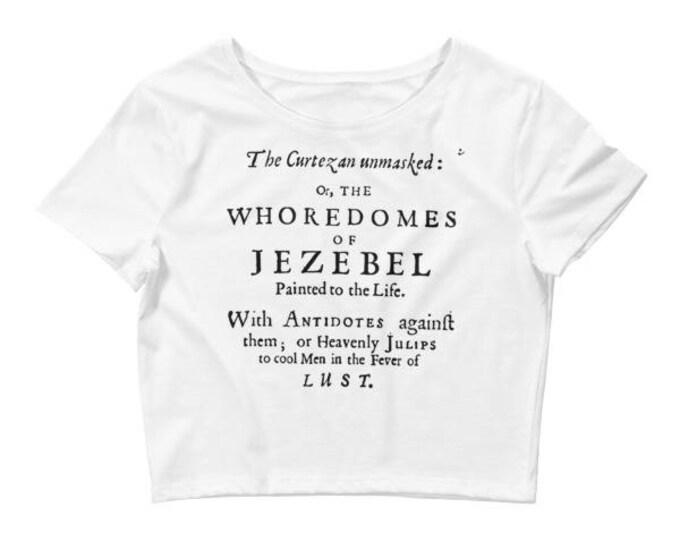 Jezebel Crop- White