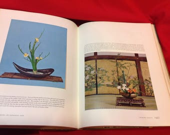 The Masters' Book of Ikebana First Edition 1966 Estate Find