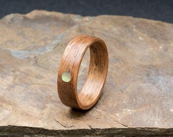 French Walnut With Abalone Setting