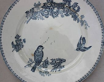 French vintage Dish