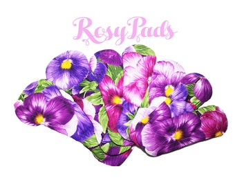 Cloth Pads, Period Kit, Washable Pads, Mama Cloths, RUMPS, Self Care,  Set Of 8 Pads, Free Shipping to U.S.