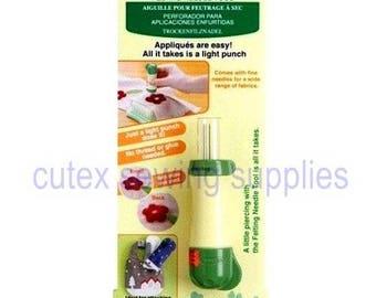 Clover Needle Felting Tool No. 8900 Attach Appliques