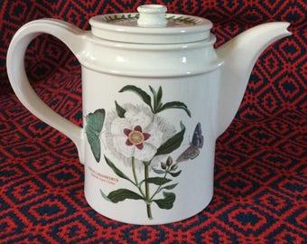 Portmeirion Botanic Garden Teapot/Coffee Pot - Spanish Gum Cistus