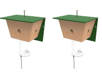 Best Bee Trap, Carpenter Bee Trap - 2 Pack