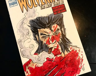 Wolverine Sketch cover