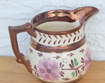 SALE!  Copper Lustre Creamer