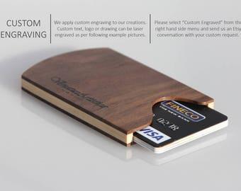 Wooden wallet,Wooden card holder,Wood wallet,Business card holder,Credit card wallet,Business card wallet,Credit card case
