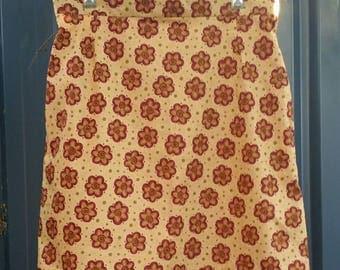 Women's skirt, A line skirt, floral skirt, ladies skirt