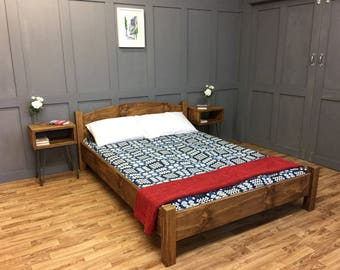 Wooden Plank Bed