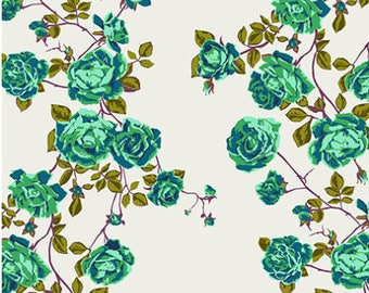 Floral Retrospective Fabric ~ Social Climber Liche by Anna Maria Horner for Free Spirit Fabrics