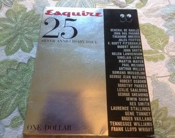 Esquire Magazine, The Magazine for Men Silver Anniversary Issue 1958.