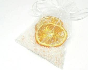 Sweet Orange Bath Salts   Bath soak with essential oils   Aromatherapy Gift   Natural Skincare   Vegan Beauty