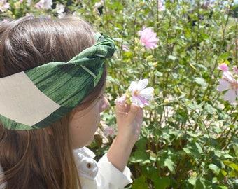 Fruity headband to tie