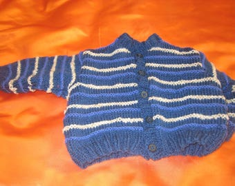 Jacket in baby size 6 month handmade