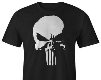 Punisher Logo T-shirts, Punisher Tee, Punisher T-shirt, Punisher Tees, Marvel Punisher Tees, DareDevil Netflix Tees, Punisher New  T-shirts