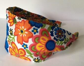 Flower Headband, Headbands For Women, Adult Headband, Childrens Headband, Womens Headbands, Mommy and Me, Back To School, Hippy Headband,