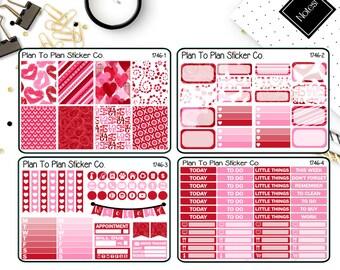 1746~~Valentines 4 PG Weekly Kit Planner Stickers.