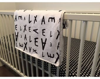 Personalized blanket / Baby blanket