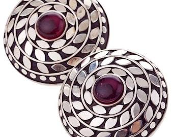 Fallon Earrings silver plated