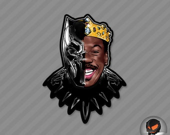 Prince of Zamunda (sticker)