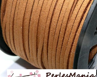10 m PG141 quality Tan suede cord