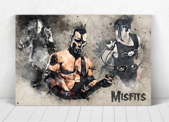 Misfits Poster Illustration / Misfits Print / Misfits / Glenn Danzig / Jerry Only / Doyle Wolfgang von Frankenstein