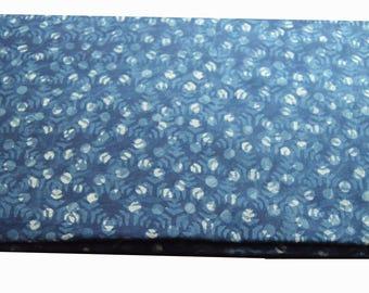 10 to 100 Yards Indian Hand Block Printed Cotton Bagru/Dabu/Idigo Fabric