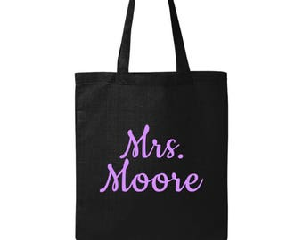 Personalized Teacher Gifts - Teacher Bag