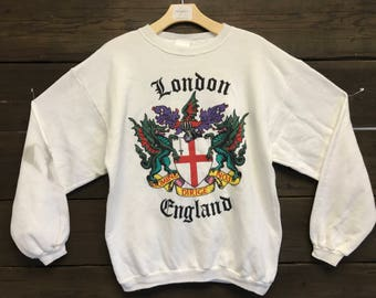 Vintage 90's England Sweatshirt