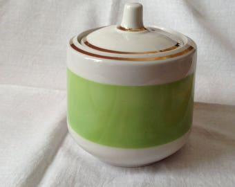 Soviet Times Porcelain Sugar Bowl Made In 70-s