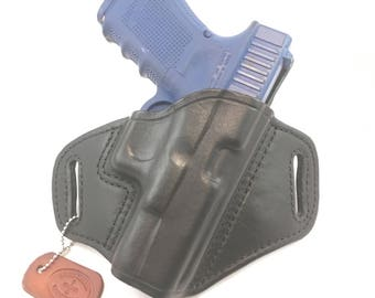 Glock 19 / 23 / 32 / 38 - Handcrafted Leather Pistol Holster