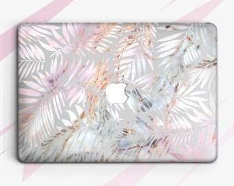 Marble Leaves Macbook Air 13 Hard Case Macbook 11 Cover Macbook 13 Protective Case Macbook Pro 15 Case Macbook Pro 13 Cover Marble case 0042