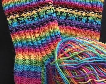Love is Love Rainbow Pride Socks